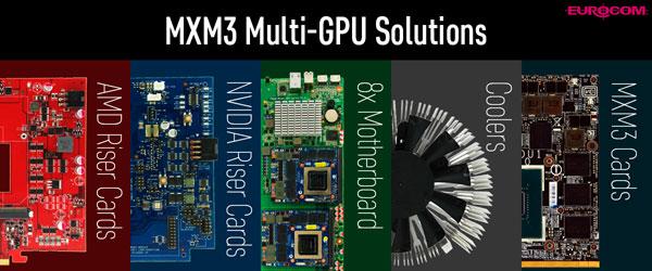 MXM3 Multi GPU Solutions Upgrade
